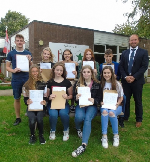 Humberston Academy celebrates GCSE results
